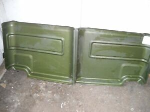 Ford Truck Supercab Rear Supercab Inside Panels 1974 1975