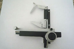 Leitz Mechanical Xy stage Dbgm Germany For Microscope Slide clip Holder