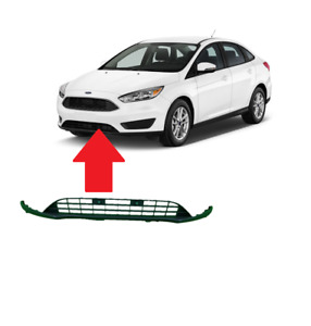 Fits 2015 2018 Ford Focus Front Bumper Lower Valance Panel For F1ez17626a Grill