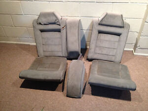 90 95 Vw Corrado Rear Bench Seats Full Set Gray