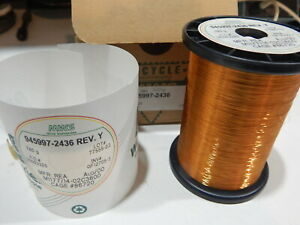 Mws 945997 2436 36 Awg Enameled Copper Magnet Wire 780 Grams
