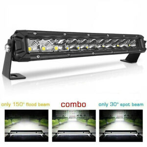 Quad Row 22inch 2880w Curved Led Light Bar Spot Flood Truck Offroad Vs 52 42 32