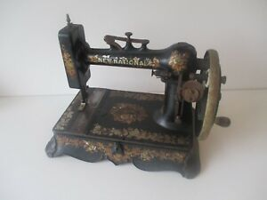 Rare 1910 New National Standard A R New Home Sewing Machine