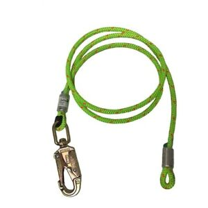 Rope Logic s 1 2in Wirecore Flipline With Swivel Snap 10ft Arborist Rigging