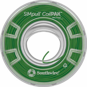 12 Thin Wire 12g Green Coil 1000 Ft Copper New Southwire Simpull Coilpak