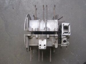 Porsche 356 Three Piece Engine Case Assembly With 912 Front Cover Genuine