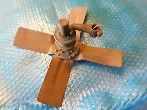 Early Model T Ford Engine Fan Brass Pulley Shaft Grease Cup Mounting Bracket