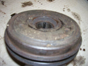 Vintage Massey Ferguson 65 Tractor engine Front Pulley 1959