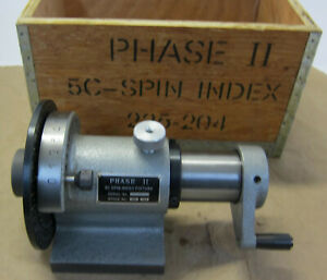 Phase Ii 5c Spin Index Fixture Model 225 204