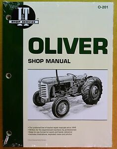 New Oliver Shop Manual For Tractor 55 66 77 88 99 770 880 990 995 o 201
