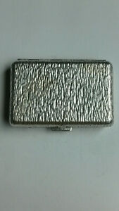 Very Rare Vintage Dunhill 925 Sterling Silver Trinket Pill Box
