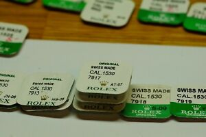 Rolex 1520 1525 1530 1560 1570 Genuine Movement Parts Various Sealed New