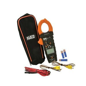 Klein Tools Cl450 Clamp Hvac Meter K type Thermocouple True Rms Free Ship
