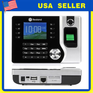 2 4 Realand Ac071 Tcp ip Biometric Fingerprint Attendance Machine Time Clock My