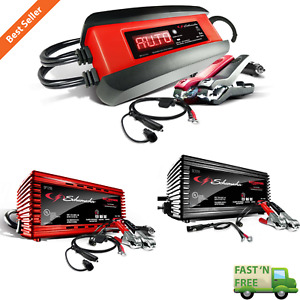 Automatic Battery Charger Maintainer Car Truck Boat Power Kit 6v 12v 1 5a 2a 3a