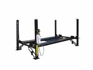 Lifttech 8 000lb Four Post Car Storage Lift Fp 8k dx free Shipping