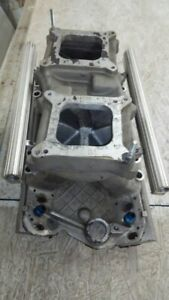 Chevrolet Small Block Holley Tunnel Ram Intake Fully Ported Efi
