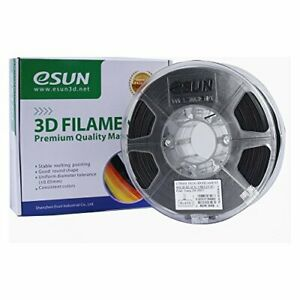 Odorless Pla Filament Replacement For 3d Printers 1 75mm Solid Opaque Black
