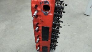 Small Block Chevrolet Bowtie Cylinder Heads With Ported Intake