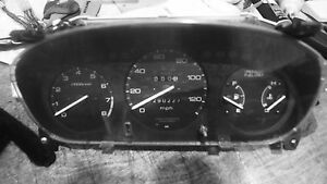 Honda Civic 5 Speed Manual Tachometer Gauge Cluster 197669 Miles 1996 2000