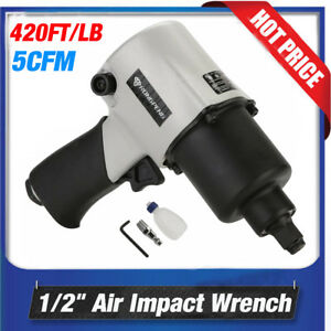 Professional 1 2 420lb Composite Air Impact Wrench Compressor Gun Tire Tool New