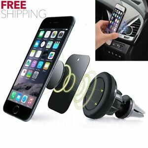 Magnetic Phone Mount Holder Universal Car Air Vent For Gps Iphone 6s 7 Plus