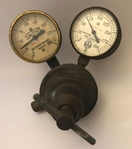 Vintage Dockson Corp Regulator Smiths Welding National Cylinder Gas Co Gauges