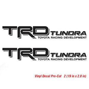 Toyota Trd Tundra Decal Sticker Vinyl Pre Cut Truck Bed Offroad Decals Off Road