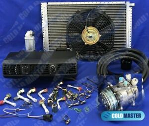 Universal Underdash Air Conditioning Kit A C 202 Comp 505 Ideal Vw Beetle