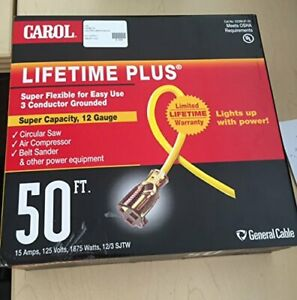 General Cable 03398 61 05 Outdoor Lighted Extension Cord