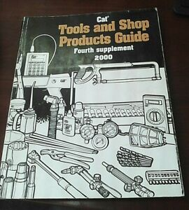 Caterpillar Tools And Shop Products Guide Fourth Supplement 2000
