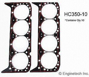 1957 2002 Fits Chevy Gmc Sbc 283 302 307 327 350 Cylinder Head Gaskets 10 Pack