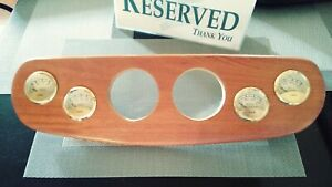 Vdo Fuel Volt Gauges Oil Water Temp Wood Rat Rod Hot Rod 32 Ford