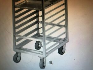 New Speed Rack Top Of The Line Steel Reinforced swivel Caster Wheels Much More