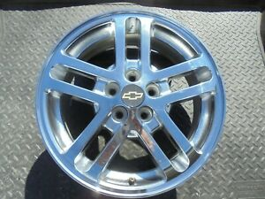 16 2002 2003 2004 2005 Cavalier Factory 10 Spoke Chromed Alloy Wheel Rim 5145