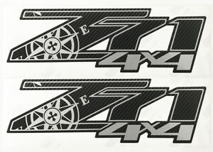 Chevy Silverado Z71 4x4 Decals Stickers Truck Decal Carbon Fiber 3m Expedition D