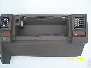 1995 Jeep Grand Cherokee Limited Dash Assembly glove Box