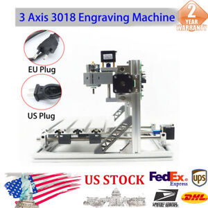 3 Axis 3018 3018 Cnc Router Engraving Machine Kit Grbl Control Aluminum plastic