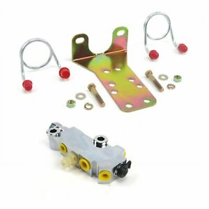Bottom Mount Chrome Disc Drum Proportioning Valve Kit For Any Disc Drum Vehicle