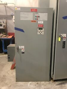 Asco 7000 Series Automatic Transfer Switch F7ats3600n5xc 600 Amp 480 Volt 3 Ph
