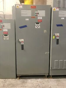 Asco 7000 Series Automatic Transfer Switch H7ats3600n5xc 600 Amp 480 Volt 3 Ph