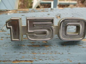 Ford 1975 F150 Emblem 1 Pieces As Shown Good Used Daily Driver Piece Rat Rod