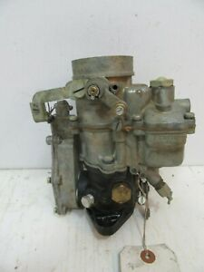 Zenith Carburetor Model 28bv11r Gov u retor International Harvester 1941 46 K5
