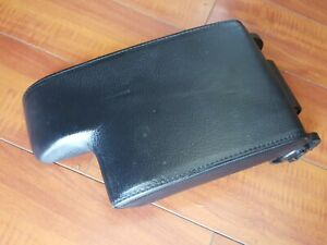 Bmw E46 Center Console Genuine Leather Armrest M3 318 328 323 325 330 Excellent