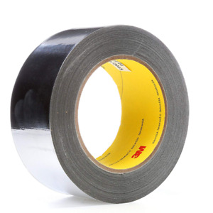 3m High Temp Aluminum Foil glass Cloth Tape 363 Silver 2 In X 36 Yd 7 3 Mil