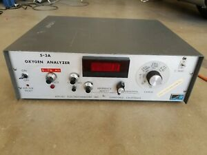 S 3a Oxygen Analyzer Applied Electrochemistry Ametek