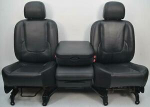 2002 2003 2004 2005 2006 Dodge Ram 1500 2500 3500 Front Leather Seats Jump Seat