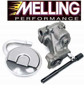 Melling M55 Oil Pump Pickup Tube Screen Drive Shaft For Chevy Sbc 327 350 400