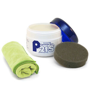 P21s Concours Look Carnauba Wax 12700w With Applicator And Free Microfiber Cloth