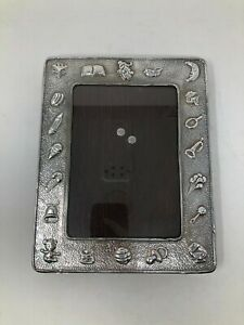 Plateria Isabel Sterling Silver Baby Picture Frame 7 1 2 X 9 3 8